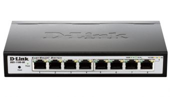 item-slider-more-photo-Фото Коммутатор D-Link DGS-1100-08 Настраиваемый (Smart) 8-ports, DGS-1100-08/A1A - фото 1