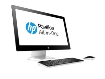 "Моноблок HP Pavilion 27-n220ur 27"" Intel Core i3 6100T 1x4GB 1TB AMD Radeon R7 360 Windows 10 Home 64, W1E36EA - фото 1"