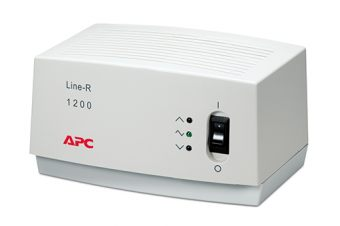 Стабилизатор APC by Schneider Electric - Line-R, 1200VA, 1200W, in160-290V out230V, 2m, LE1200-RS - фото 1