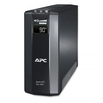 ИБП APC by Schneider Electric Back-UPS Pro 900VA/540W 230V Line-Interactive Hot Swap User Replaceable Batteries LCD Tower  BR900G-RS - фото 1