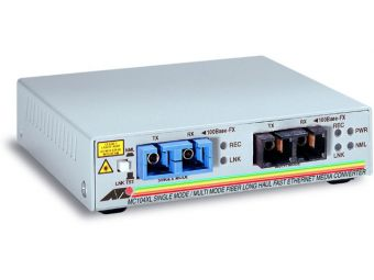 Медиаконвертер Allied Telesis 100Base-FX-100Base-FX SC-SC AT-MC104XL-20
