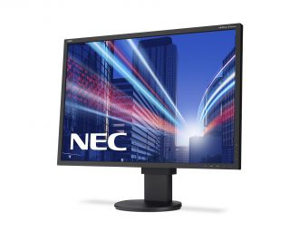 "Монитор NEC - EA304WMI-BK, 30"", 16:10, LED, IPS, 6ms, 350cd/m², 1000:1, 2560x1600, 75Hz, VGA, 1x DVI, 1x HDMI, 1x DP, USB-hub, HAS, pivot, speakers, цвет Чёрный, EA304WMI-BK - фото 1"