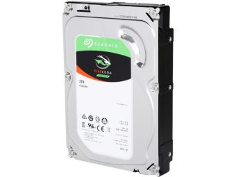 "Диск HDD  Seagate - FireCuda, for Desktop, SATA III (6Gb/s), 3.5"", 2TB + 8GB, 7K, 64MB, ST2000DX002"
