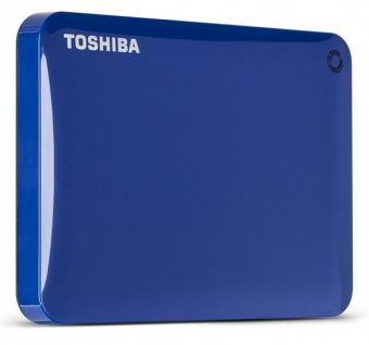 "Внешний диск HDD Toshiba Canvio Connect II 500GB 2.5"" USB 3.0  Синий HDTC805EL3AA"