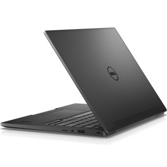 "Ноутбук Dell Latitude 7370 - 13.3"", 1920x1080 (Full HD), Intel Core M5 6Y54 1100MHz, On board DDR3 8GB, SSD 256GB, Intel HD Graphics 515, Bluetooth, Wi-Fi, LTE, noDVD, 4cell, Чёрный, Windows 7 Professional 64 + Windows 10 Pro 64, 7370-4936 - фото 1"