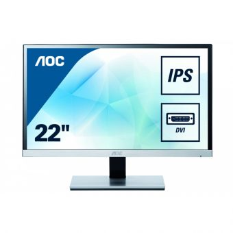 "Монитор AOC I2267FW 21.5"" LED IPS 250кд/м² 1920x1080 (Full HD) Чёрный I2267FW - фото 1"