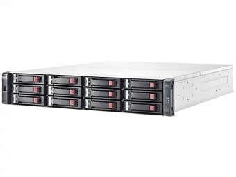 "Система хранения HP Enterprise MSA 2040 12x3.5"" Fibre Channel 8/16Gb, iSCSI 1/10GbE 2U C8R14A - фото 1"
