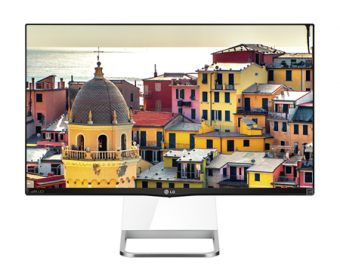 "Монитор LG - 27MP77HM-P, 27"", 16:9, LED, IPS, 5ms, 250cd/m², 1000:1, 1920x1080 (Full HD), Speakers, Чёрный, 27MP77HM-P - фото 1"