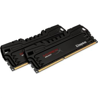 Комплект памяти Kingston HyperX Beast 8ГБ DIMM DDR3 non ECC 2400МГц CL11 1.5В (2шт.) HX324C11T3K2/8