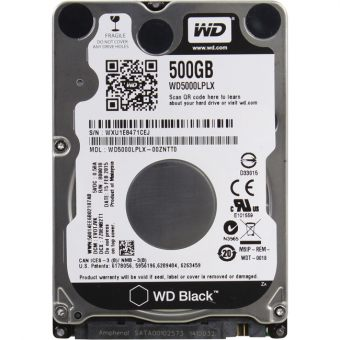 "Диск HDD Western Digital SATA III (6Gb/s) 2.5"" Black 7K 16MB 500GB WD5000LPLX"