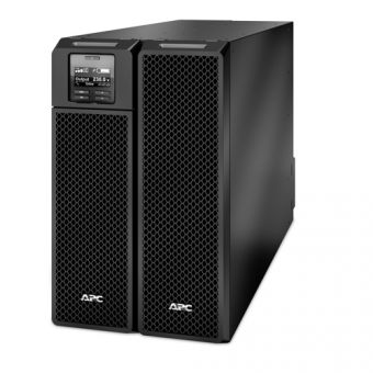 ИБП APC by Schneider Electric - Smart-UPS SRT, 10000VA/10000W, On-Line, in (220V / 380V IEC-309 1P+N+E / IEC-309 3P+N+E), out (6xIEC-C320 C13 4xIEC-C320 C19), Hot Swap User Replaceable Batteries , Rack/Tower, 6U, SRT10KXLI - фото 1