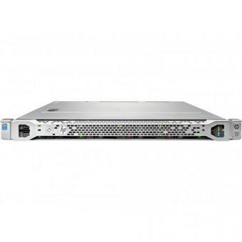 Сервер HP Enterprise - ProLiant DL120 Gen9, 1xIntel Xeon E5 2630v3 2400MHz, DIMM DDR4 1x8GB, 8xSFF, Smart Array H240, 2x1GbE, noDVD, 550W, Rack, 1U, 777425-B21 - фото 1