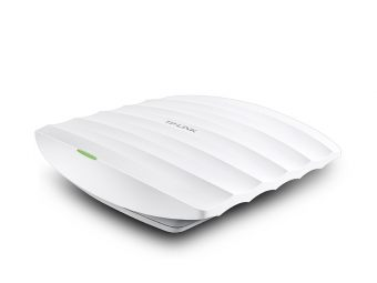 Точка доступа TP-Link - EAP330, 2.4/5 ГГц, 1300Mb/s, IEEE 802.11 a/b/g/n/ac, RJ-45 1 x 1 Гб/с, web interface, SNMP, telnet, mac address filtering, EAP330