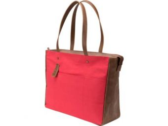 "Сумка HP Women Canvas Tote 14"" Красный V1M57AA"
