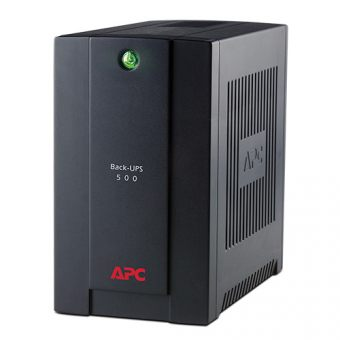 ИБП APC by Schneider Electric Back-UPS 500VA/300W 230V Stand-by  Tower  BC500-RS - фото 1