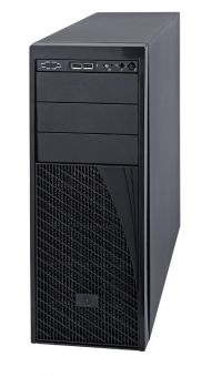 Корпус Intel Union Peak P4000S Tower 460Вт Чёрный 4U (mATX) P4000XXSFDR