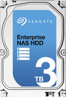 "Диск HDD Seagate SATA III (6Gb/s) 3.5"" Enterprise NAS 7K 128MB 3TB ST3000VN0001"