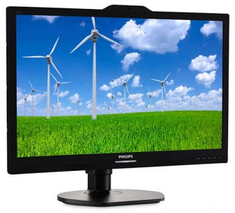 "Монитор Philips 221S6QYKMB 21.5"" LED IPS 250кд/м² 1920x1080 (Full HD) Чёрный 221S6QYKMB/00 - фото 1"