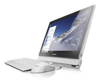 "Моноблок Lenovo S400z 21.5"" Intel Core i3 6100U 1x4GB 500GB Intel HD Graphics 520 FreeDOS 10K2001URU - фото 1"