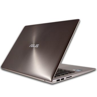 "Ультрабук Asus ZenBook UX303UB-R4066T - 13.3"", 1920x1080 (Full HD), Intel Core i7 6500U 2500MHz, SODIMM DDR3L 8GB, HDD 1TB, nVidia GeForce GT 940M DDR3 2GB, Bluetooth, Wi-Fi, noDVD, Коричневый, Windows 10 Home 64, 90NB08U1-M01540 - фото 1"
