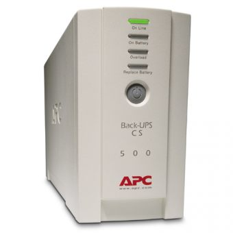 ИБП APC by Schneider Electric Back-UPS 500VA/300W 230V Stand-by  Tower  BK500EI - фото 1