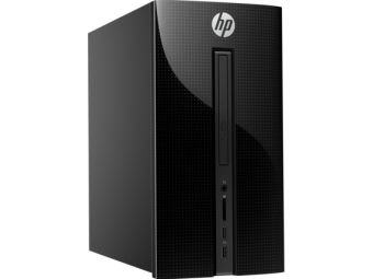 Настольный компьютер HP 460-a023ur AMD E2 7110 1x2GB 500GB AMD Radeon R2 Windows 10 Home 64 X0Y93EA - фото 1