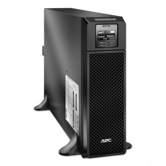 ИБП APC by Schneider Electric Smart-UPS SRT 5000VA/4500W 230V On-Line Hot Swap User Replaceable Batteries LCD Rack/Tower  SRT5KXLI - фото 1