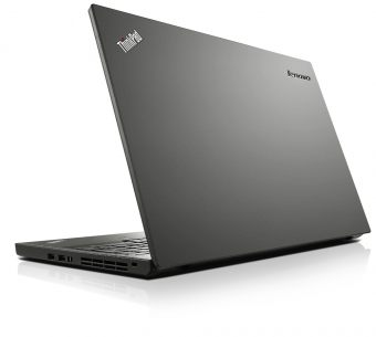 "Ультрабук Lenovo ThinkPad T550 - 15.6"", 1366x768 (WXGA), Intel Core i5 5200U 2200MHz, SODIMM DDR3L 8GB, Hybrid 500GB + 8GB, Intel HD Graphics 5500, Bluetooth, Wi-Fi, noDVD, 9cell, Чёрный, Windows 7 Professional 64 + Windows 8.1 Pro 64, 20CK001URT - фото 1"
