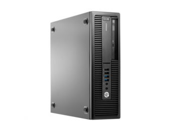 Настольный компьютер HP EliteDesk 705 G2 AMD A4 8350 1x4GB 500GB AMD Radeon R5 Windows 10 Pro 64 downgrade Windows 7 Professional 64 M9B21EA - фото 1