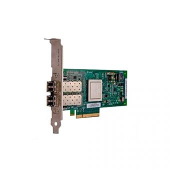 Адаптер главной шины Dell - HBA FC, Fibre Channel 8 Гб/с, PCI Express 2.0 x8, 0х external, SGL, 406-BBEL