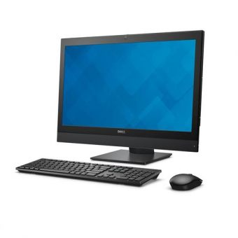 "Моноблок Dell - OptiPlex 7440, 23.8"", Intel Core i7 6700 3400MHz, DIMM DDR4 8GB, SATA III (6Gb/s)  1TB, Intel HD Graphics 530, noDVD, Чёрный, Windows 7 Professional 64, 7440-8588 - фото 1"
