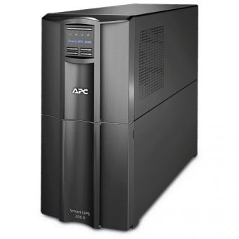 ИБП APC by Schneider Electric Smart-UPS 3000VA/2700W 230V Line-Interactive Hot Swap User Replaceable Batteries LCD Tower  SMT3000I - фото 1