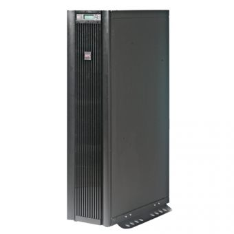 ИБП APC by Schneider Electric - Smart-UPS VT, 10000VA/8000W, On-Line, in (400V 3PH IEC-309 3P+N+E), out (terminal block), Hot Swap User Replaceable Batteries , LCD , Tower, цвет Чёрный, SUVTP10KH2B2S - фото 1