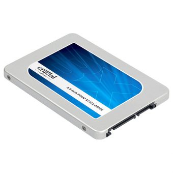 "Диск SSD Crucial - BX200, for Desktop, 2.5"", 240GB, SATA III (6Gb/s), speed write-490MB/s read-540MB/s, TLC, CT240BX200SSD1"