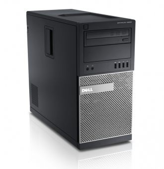 Настольный компьютер Dell Optiplex 9020 Intel Core i7 4790 2x4GB 1TB AMD Radeon R7 250 Windows 8.1 Pro 64 downgrade Windows 7 Professional 64 9020-1192 - фото 1