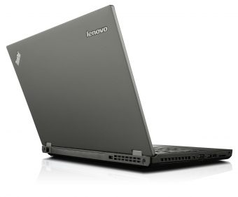 "Ноутбук Lenovo ThinkPad T540p - 15.6"", 1366x768 (WXGA), Intel Core i5 4210M 2600MHz, SODIMM DDR3L 8GB, Hybrid 500GB + 8GB, Intel HD Graphics 4600, Bluetooth, Wi-Fi, DVD-RW, 6cell, Чёрный, Windows 7 Professional 64 + Windows 8.1 Pro 64, 20BE009BRT - фото 1"