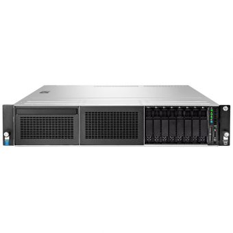 Сервер HP Enterprise - ProLiant DL180 Gen9, 1xIntel Xeon E5 2609v3 1900MHz, DIMM DDR4 1x8GB, 8xSFF, Smart Array H240, 2x1GbE, noDVD, 550W, Rack, 2U, 778455-B21 - фото 1