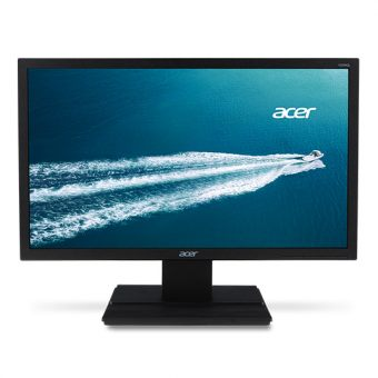 "Монитор Acer - V226HQLabd, 21.5"", 16:9, LED, VA, 8ms, 250cd/m², 1920x1080 (Full HD), 75Hz, VGA, 1x DVI, цвет Чёрный, UM.WV6EE.A02 - фото 1"