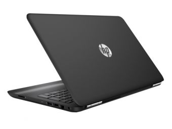 "Ноутбук HP Pavilion 15-au102ur - 15.6"", 1920x1080 (Full HD), Intel Core i7 7500U 2700MHz, SODIMM DDR4 16GB, HDD + SSD 1TB + 128GB, nVidia GeForce GT 940MX 2GB, Bluetooth, Wi-Fi, DVD-RW, 2cell, Чёрный, Windows 10 Home 64, Y5V53EA - фото 1"