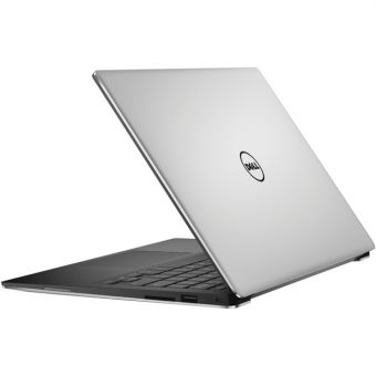 "Ноутбук Dell XPS 13 - 13.3"", 3200x1800 (QHD+), Intel Core i7 6560U 2200MHz, On board DDR3 8GB, SSD 256GB, Intel Iris Graphics 540, Bluetooth, Wi-Fi, TouchScreen, noDVD, 4cell, Серебристый, Windows 10 Home 64, 9350-9389 - фото 1"