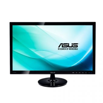 "Монитор Asus VS248HR 24"" LED TN 250кд/м² 1920x1080 (Full HD) Чёрный VS248HR - фото 1"