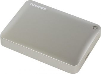 "Фото Внешний диск HDD Toshiba Canvio Connect II 3TB 2.5"" USB 3.0 Золотистый, HDTC830EC3CA"