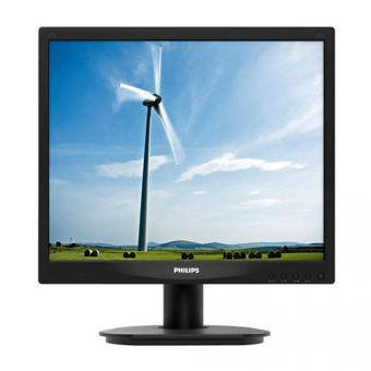 "Монитор Philips 17S4LSB 17"" LED TN 250кд/м² 1280x1024 (SXGA) Чёрный 17S4LSB/00"
