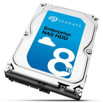 "Диск HDD  Seagate - Enterprise NAS, for NAS, SATA III (6Gb/s), 3.5"", 8TB, 7K, 256MB, ST8000NE0001"
