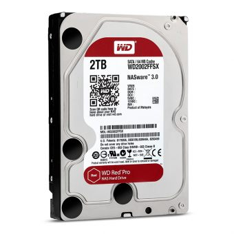 "Диск HDD  Western Digital - Red Pro, for NAS, SATA III (6Gb/s), 3.5"", 2TB, 7K, 64MB, WD2002FFSX"