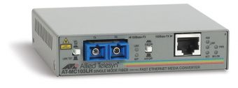 Медиаконвертер Allied Telesis 100Base-TX-100Base-FX RJ-45-SC AT-MC103LH-60