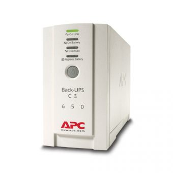 ИБП APC by Schneider Electric Back-UPS 650VA/400W 230V Stand-by  Tower  BK650EI - фото 1