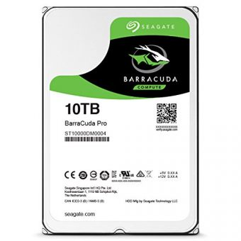 "Диск HDD  Seagate - BarraCuda Pro, for Desktop, SATA III (6Gb/s), 3.5"", 10TB, 7K, 256MB, ST10000DM0004"