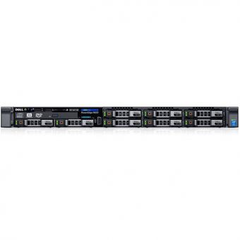 "Сервер Dell PowerEdge R630 ( 1xIntel Xeon E5 2620v3 1x8ГБ  2.5"" ) 210-ACXS-48 - фото 1"