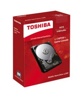 "Диск HDD  Toshiba - L200 Slim, for Mobile, SATA III (6Gb/s), 2.5"", 500GB, 5K, 8MB, 7мм, HDWK105EZSTA - фото 1"